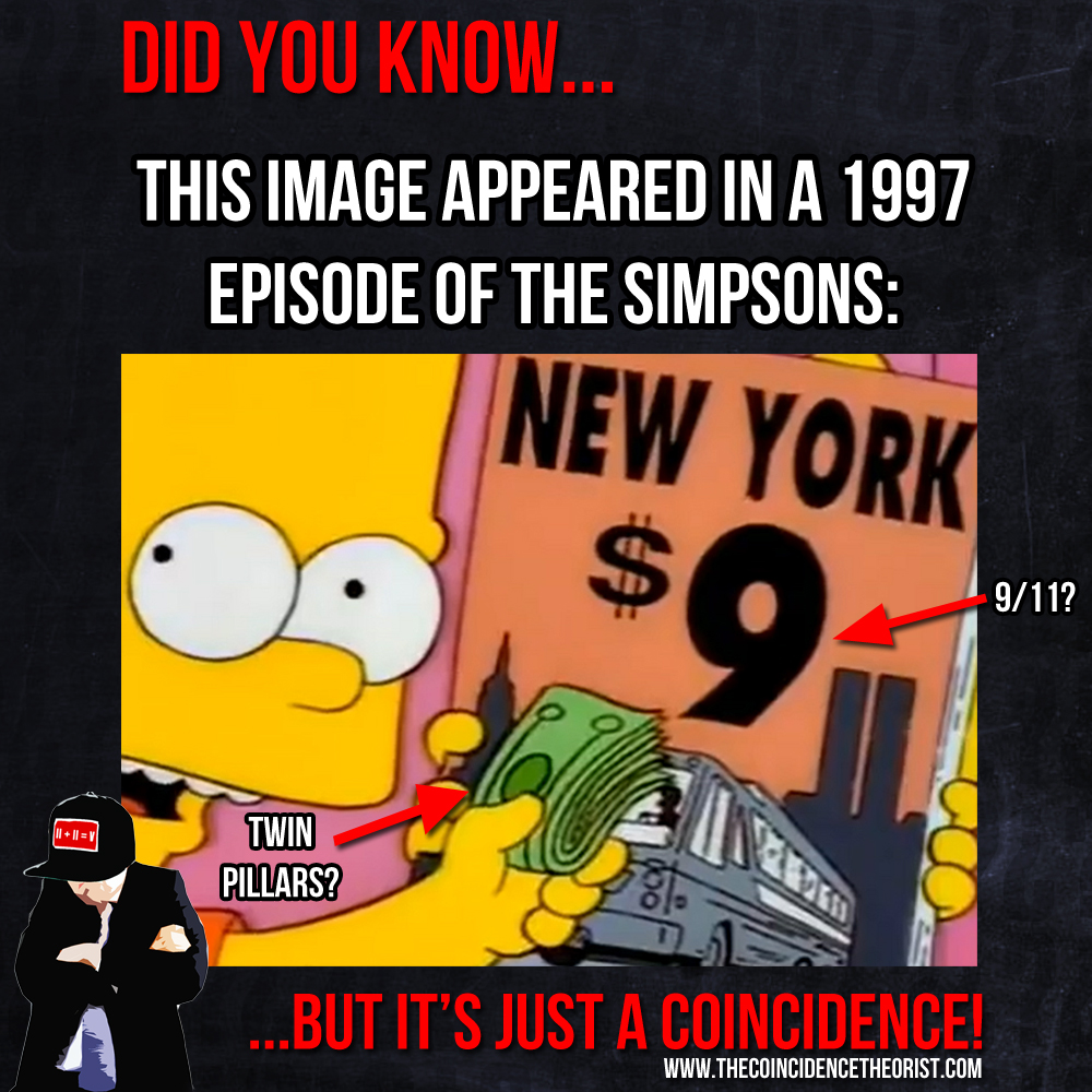"""11 """"Predicted"""" In The Simpsons? – The Coincidence Theorist"""